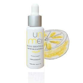 | huile essentielle de citron zeste bio (lemon yellow peel) |