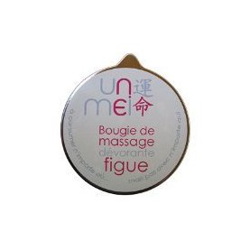 | bougie de massage dévorante - figue |