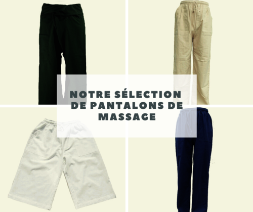 Pantalons de massage mixte